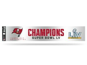 Tampa Bay Buccaneers 2020-2021 Super Bowl LV Champions Tailgate Decal