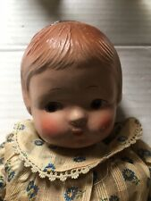 Antique Composition Baby Doll String Jointed Old