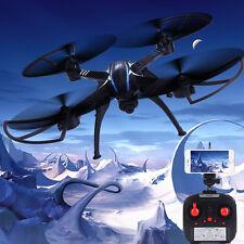 ShengKai 2.4G 4CH 6-Axes Wifi Gyro RC Quadcopter Drone Avec  Caméra 2.0MP Noir