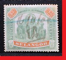 MALAYA 1895 SELANGOR Elephant $25 USED SG#66 M2561