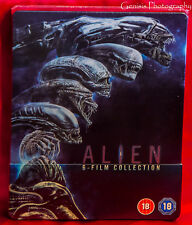 Alien 1-6  Steelbook / Includes Alien Covenant /  Zavvi Version Region Free