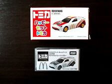 Tomica Toyota 86 Die-Cast McDonald's Racing Car & Free gift Plastic car Set !