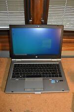 HP Elitebook 8460p Core i7 8GB RAM 80GB SSD Windows 10 Pro WiFi Webcam Bluetooth