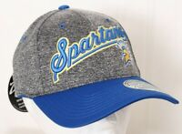 NEW San Jose State University Spartans Gray Zephyr Cap Stretch Fit Hat M/L