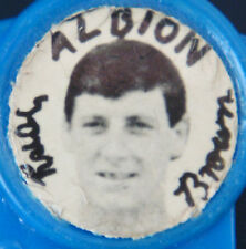 WEST BROMWICH ALBION LEGEND TONY BOMBER BROWN 1961-80 STAR Badge 33mm x 31mm