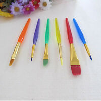6pcs Cake Icing Decorating Painting Brushes Fondant Dusting SugarCraft Clay Tool