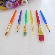 6pcs Cake Icing Decorating Painting Brushes Fondant Dusting SugarCraft Clay Tool
