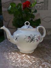 Vintage Bone China Teapot Adderley 1940s