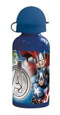 Marvel Avengers Assemble Child's School Kids 400ml Aluminium Drink Water Bottle
