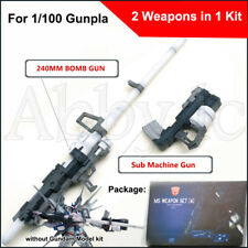 Magictoys Sniper Rifle Sub Machine Gun MS Weapons Set for Bandai MG 1/100 Gundam