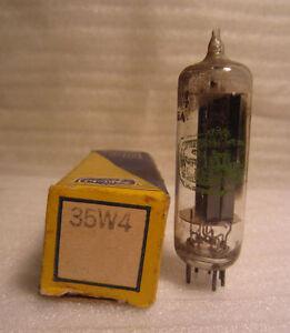 Shield 35W4 Electronique Aspirateur Tube En Boîte NOS
