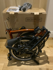 Brompton Flame Lacquer M6L Black Edition (2021 Batch) BNIB