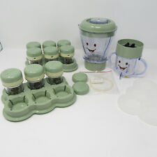 Magic Baby Bullet Blender System Homemade Baby Food Storage Cups Accessory Lot