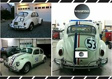 AUTH HERBIE THE LOVE BUG DECAL STICKER KIT ORIGINAL Fast shipping