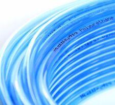"1pc Polyurethane Tube 1/4"" OD Transparent BLUE 30 m (98 ft) MettleAir PU1/4-30CB"