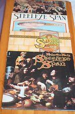 Steeleye Span 4 álbumes a continuación sal, paquete Rogues, alrededor de mi sombrero, Hark the village!