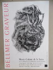 Affiche originale BELLMER Hans Gravure 97 Kattowitz Surréalisme Le Chapeau-main