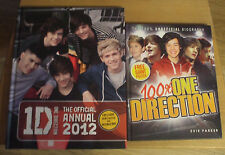 ONE DIRECTION: OFFICIAL ANNUAL 2012 & THE 100% UNOFFICIAL BIOGRAPHY WITH POSTER