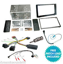 Double Din Car CD Stereo Fitting Kit, Fascia Panel, Steering Control For SAAB 93