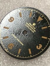 Dial Glossy gilt Tropical Brown for Rolex Explore 5504- 1960s ( Refinished )