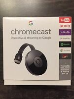 Google Chromecast 2 NC2-6A5 Chrome Cast 1080p HD Media IP TV Streamer HDMI WiFi
