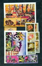 Azerbaijan Flowers Mushrooms MNH +Sheets (NT 5541