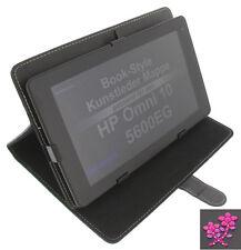 Sac Fleur En Strass Pour HP Omni 10 5600EG Tablette Cas D'ipad noir