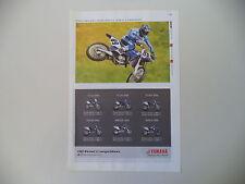 advertising Pubblicità 2006 MOTO YAMAHA YZ 125 250 F/450 F/WR 250 F/450 2WD