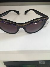 Prada SPR04P Cat Eye Sunglasses 04PS with Crystal details