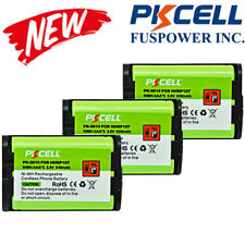 3x Cordless Phone Replacement Battery for HHR-P107 HHR-P107A/1B 3.6V 800mAh NIMH