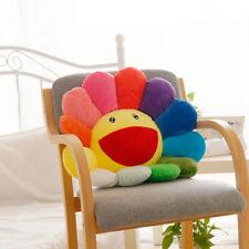 Plush Sofa Cushion AUTO ACCESSORY, 15.7 Murakami Takashi Sunflower new