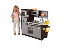 KidKraft Exclusive Uptown Espresso Kitchen-NEW IN BOX, BOX HAS DAMAGE.
