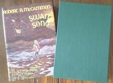 SIGNED/LIMITED Robert McCammon SWAN SONG 1st HC Slipcase RARE