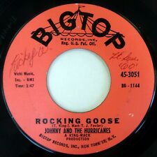 Johnny & Hurricanes 45 Rocking Goose/Revival Big Top rock Vg+ lc251