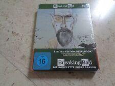 BREAKING BAD first Season 1 Blu-ray SteelBook *NEW* Bryan Cranston Aaron Paul