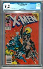 "Uncanny X-Men #258 (1990) CGC 9.2  White Pages  Claremont - Lee  ""NEWSSTAND"""""