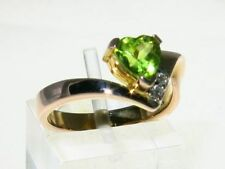 Green Cocktail Fine Rings