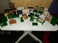 Epoch Calico Critters Mixed Lot Furniture Stove Bed Cribs sink mapletown vintage