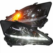 For 2006-2012 Lexus IS250 IS350 headlights With LED DRL And Bi-xenon Projector