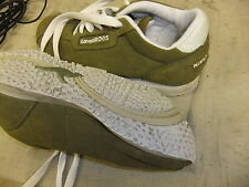 Shoes girls KANGAROOS size 4 olive green excellent