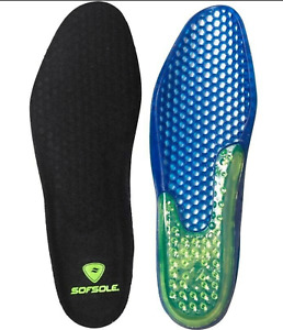 Sof Sole Airr Gel Honeycomb Sports Coolmax Cushioned Insoles UK 7-8
