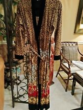 Leopard, Rose Robe, Gorgeous,Stunning Sz M