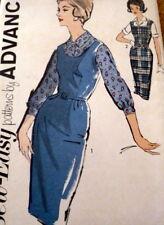 LOVELY VTG 1960s DRESS & BLOUSE ADVANCE Sewing Pattern BUST 33 FF