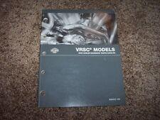 2005 Harley Davidson VRSC Street Night Rod V-Rod Factory Parts Catalog Manual