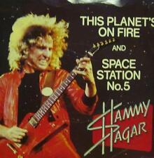 "Sammy Hagar(7"" Vinyl P/S)This Planet's On Fire-Capitol-CL 16114-UK-VG/VG+"