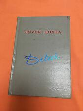 ENVER HOXHA ALBANIAN COMMUNISM ERA BOOK- PERSONAL DIARY 1958-1959 VERY RARE