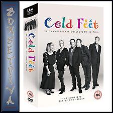 Cold Feet Series 1 2 3 4 5 6 7 Season 20th Anniversary Collectors Edition DVD