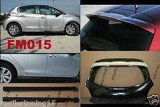 MINIGONNE PEUGEOT 208 ABS NERO SATINATO FM015+ SPOILER F178 GREZZO  ST229