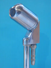 Vintage  1960S Era Electro Voice 638 Dynamic High Z Harp Microphone And Adapter