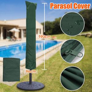 Parasol Umbrella Green Cover Outdoor Garden Patio Shield Waterproof Protection